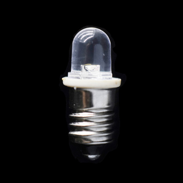 E10 Miniature Screw Bulb 4.5V Signal White Bulb