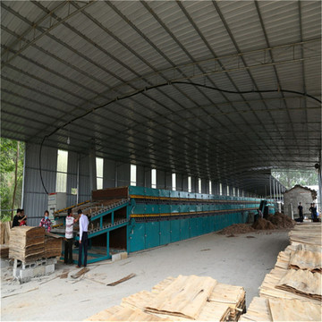 Veneer Drying Machine for Veneer Production