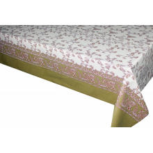 Elegant Tablecloth with Non woven backing Below