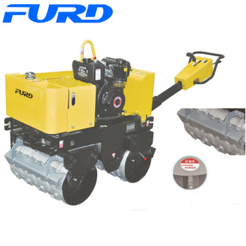 800kg Manual Vibratory Double Sheep Foot Road Roller (FYL-G800C))
