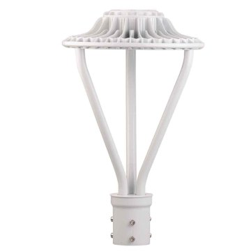 75W White Color Led Lamp Post Lighting Fixtures