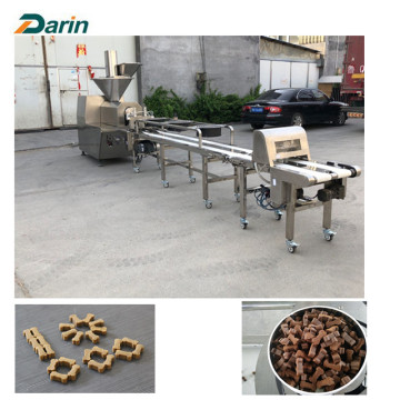 automatic cold squeeze pet snack extrusion line