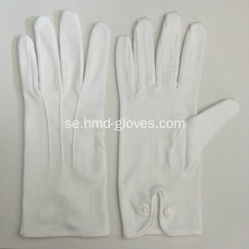 Vit Military Parade Gloves Snap-knapp