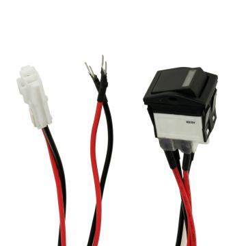 16A 125/250VAC Rocker Switches with Wire