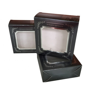 Fancy Soap Packaging Carton Gift Box With Window