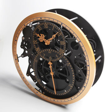 Unique Clock with Irregular Gear for Wall Decoration