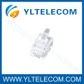 Conntector RJ11 and RJ45 plug