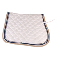 White Polycotton Saddle Pad Wholesaler