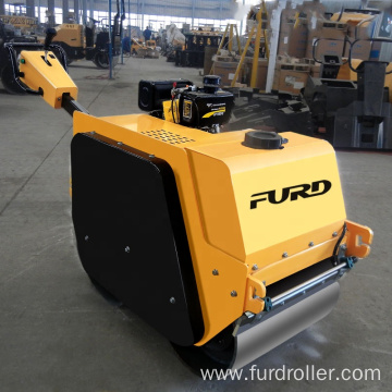 China 550Kg Double Drum Vibratory Small Road Roller Compactor FYLJ-S600C