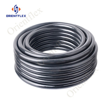 pvc reinforced strengthen soft braided gas hose