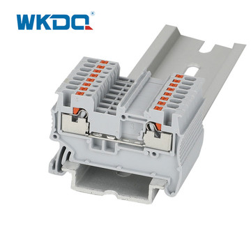 DIN Rail Spring Terminal Blocks