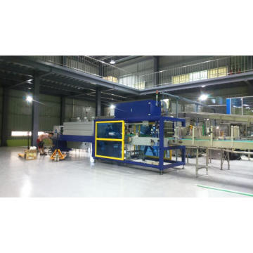 Half Tray Automatic PE Film Shrink Wrapping Machine