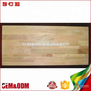 Borda Vietnã colada no painel American Red Oak