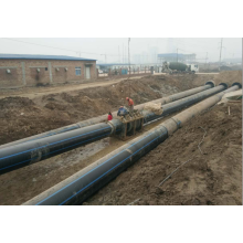 HDPE plastic water pipe