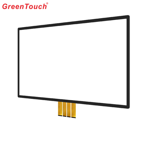 "49"" Conference Medical Transparent Glass Touch Screen"