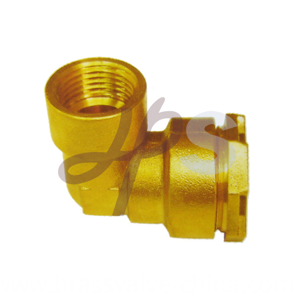Brass Pe Ppr Elbow Compression Fitting H834