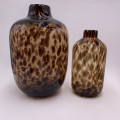Leopard Spotted Glass Vase