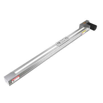 Linear guide with roller