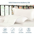 16 Momme Pure Mulberry Silk Pillowcase Oxford Envelope