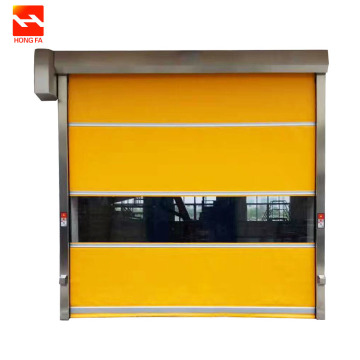Elektryske PVC Fast Action Roll Up Door