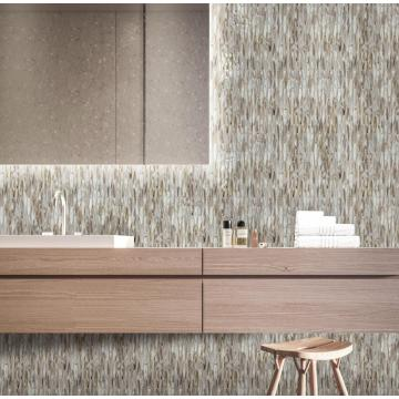 Brown Glass Mosaic Tiles For Kitchen And Bathroom