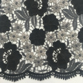 Elegant Multicolor Flower Chemical Lace Embroidery Fabric