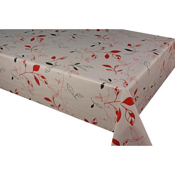 Elegant Tablecloth with Non woven backing Resistance