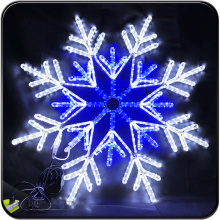 LED large snowflake lights new year decoration