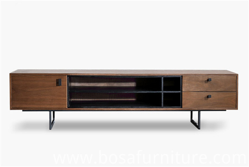 Tv Stands Walnut Veneer