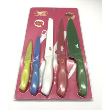 5pcs knife card set