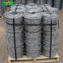 High tensile galvanized barbed wire price per roll