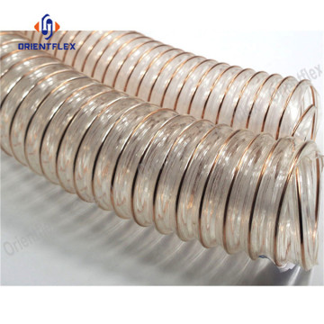 PU air vacuum duct hose