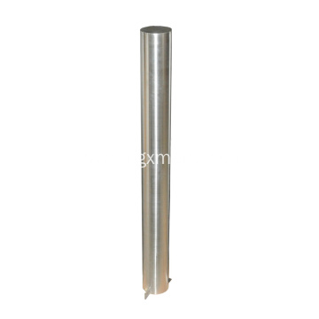 1100mm Commercial Stainless Steel Sidewalk Bollard Post