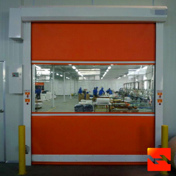 Electric Fabric Curtain High Speed Door