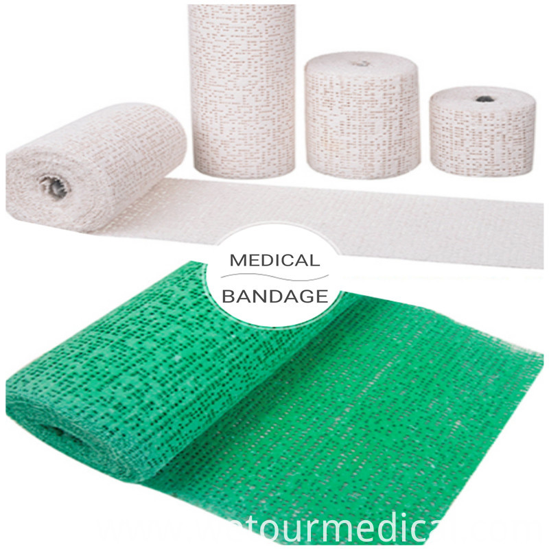 Breathable Medical Health Self Adhesive Gauze Bandage Rolls