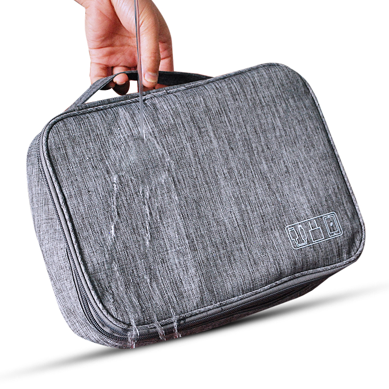 Cable Storage Bag Charger Wire Electronic Organizer Digital Gadget Pouch Cosmetic Kit Case Closet Wardrobe Accessories Supplies