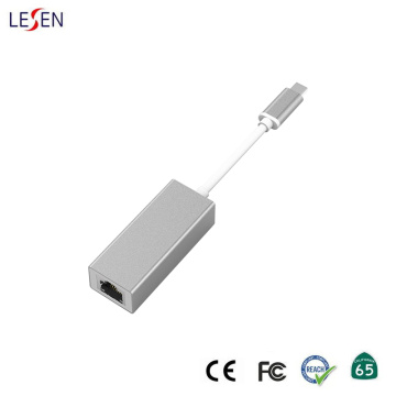 USB Type-C to RJ45 Female Adapter