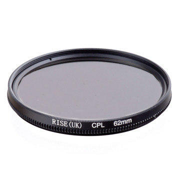RISE(UK) 62mm Circular Polarizing CPL C-PL Filter Lens 62mm For Canon NIKON Sony Olympus Camera
