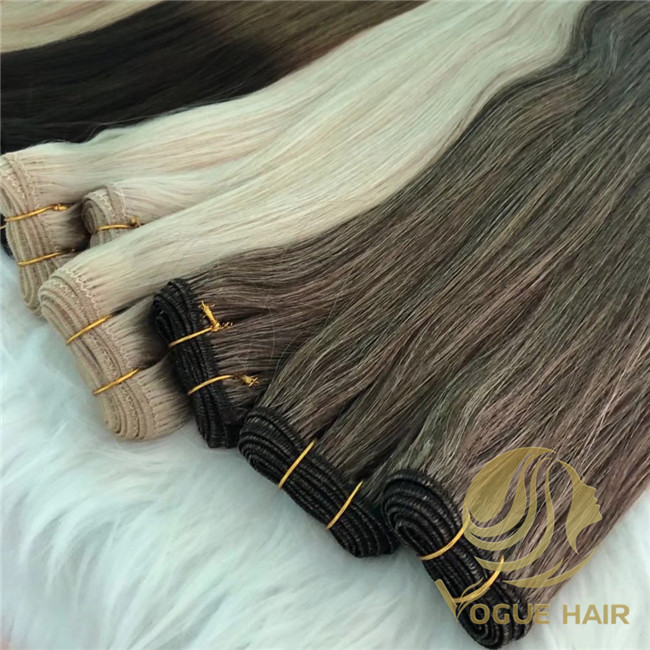 machine weft hair on sale
