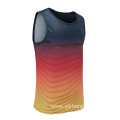 Mens Dry Fit Gradient Rugby Wear Vest