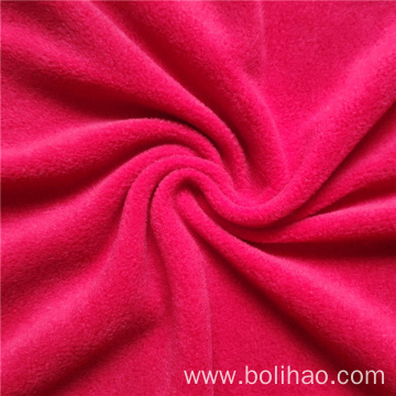 Dyed Shearing Fleece Fabric