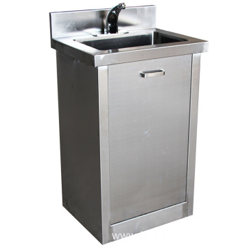 Medical lavabo basin processing