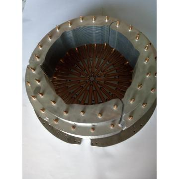 Copper Pipe Heatsink Aluminum Fin