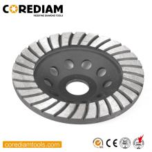 5 Inch Turbo Sinter Cup Wheel for Stone