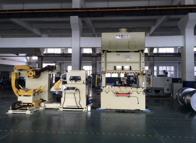 NC Servo 3 In 1 Steel Straightener,Feeder And Uncoiler