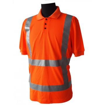 High Visibility Pique Working Short Sleeve T shirt