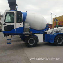 New 4M3 Self loading concrete mixer truck