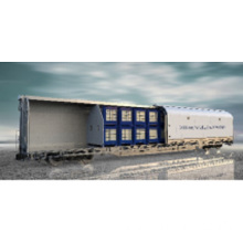 Sliding Movable Side Wall Express Covered Wagons