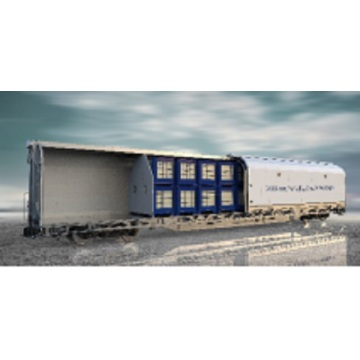 Movable Side Wall Express Covered Wagon