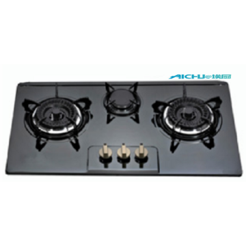 3 Burners Built In Natural Gas Hob